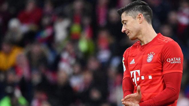 Lewandowski, con el Bayern.