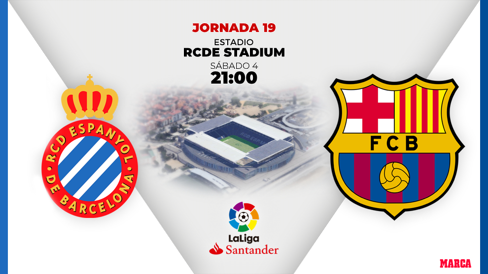 Espanyol - Barça: horario y dónde ver en television hoy el partido...