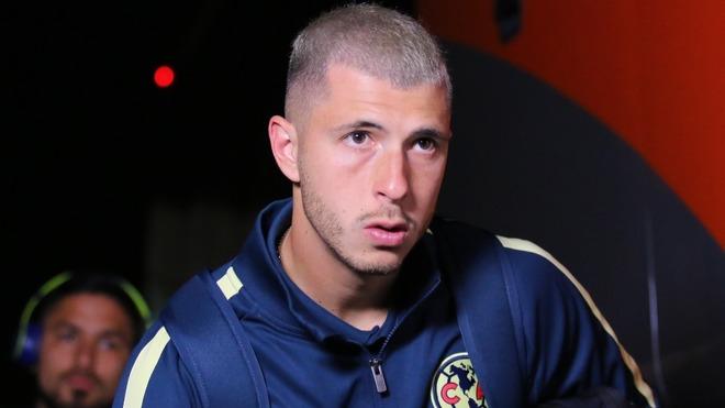 Rodríguez, previo a un partido con el América.
