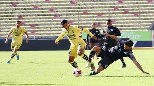 El duelo se disputó en el Estadio Morelos.