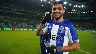 Jesús 'Tecatito' Corona, jugador del Porto.
