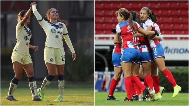Futbol Femenil Jornada Del Lunes Chivas Y Cruz Azul Dividen