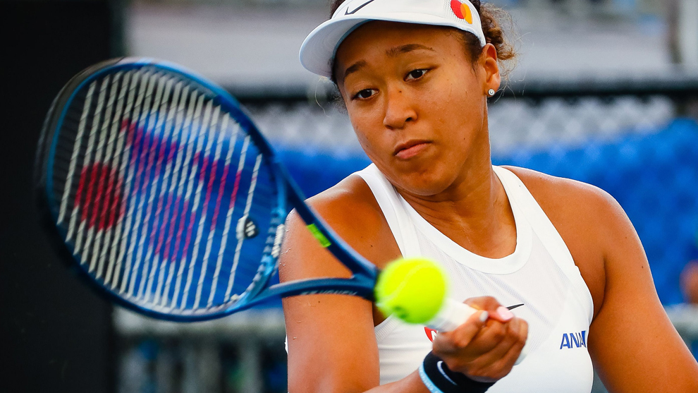 Naomi Osaka en el Brisbane International