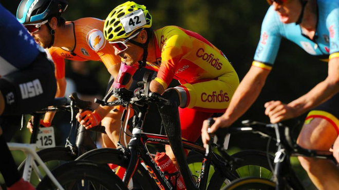 El ciclista paralímpico valenciano, Ricardo Ten.