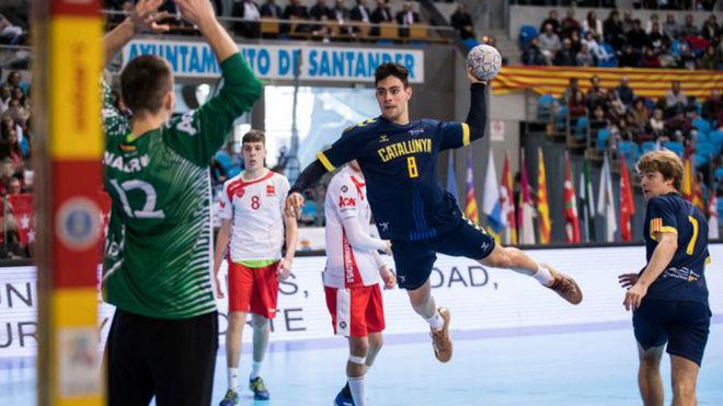 Final juvenil masculina entre Cataluña y Madrid /