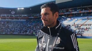 Jaime Lozano, en el Esradio Hidalgo.