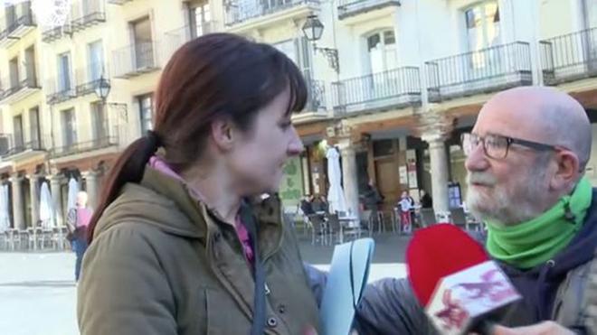 """Una militante de Vox, contra un miembro de Teruel Existe: """"Si hay que..."""