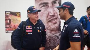 Carlos Sainz vs Nasser Al-Attiyah, el último capítulo de una rivalidad legendaria