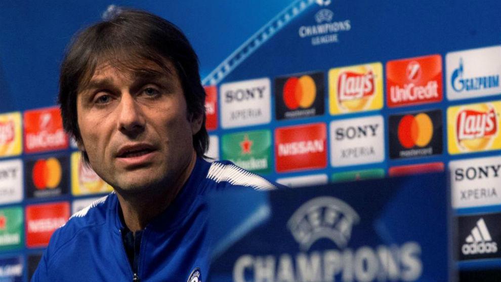 Conte, en el Chelsea.