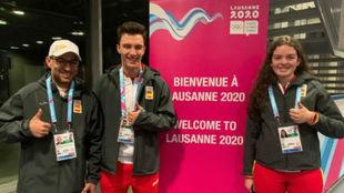 Los deportistas de esquí alpino que representarán a España en los...
