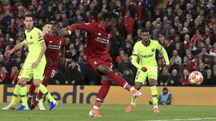 El Barcelona fue eliminado por el Liverpool en la pasada temporada de...