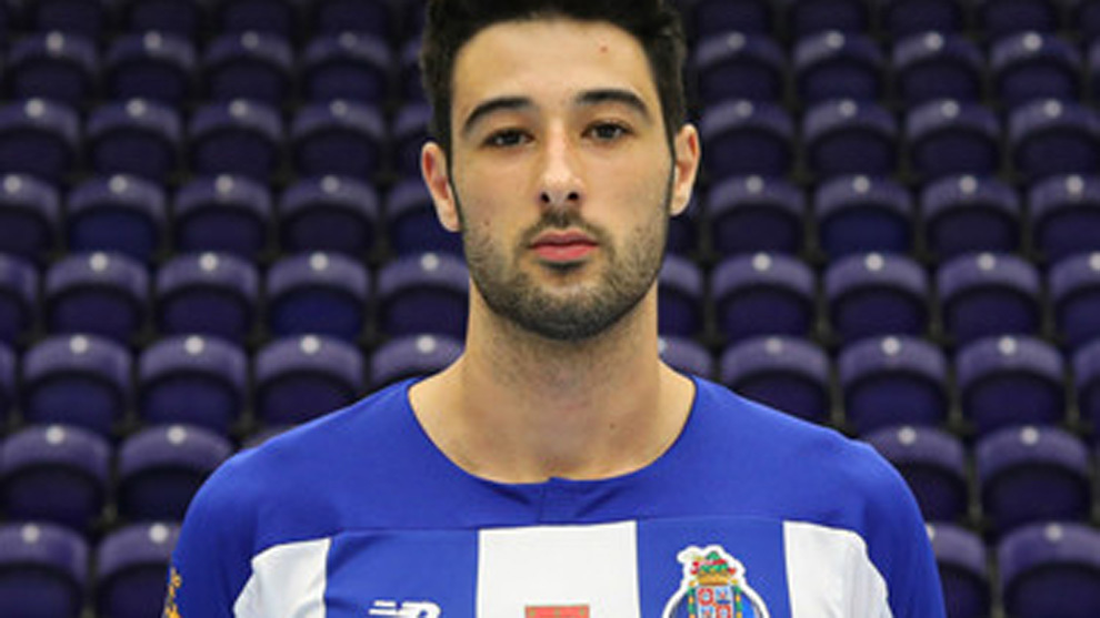 Ruben Ribeiro, con la camiseta del Porto /