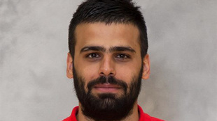Allahkaram Esteki, durante su etapa en el Dinamo Bucuresti /