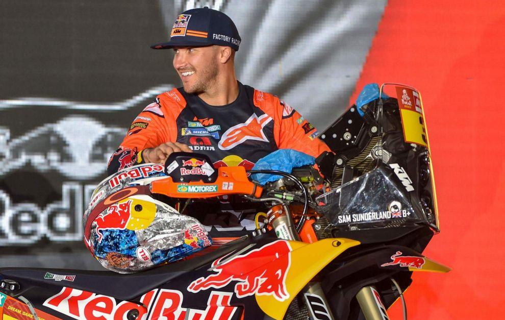Rally Dakar 2020: Sam Sunderland, segundo favorito en motos que abandona el Dakar   Marca.com
