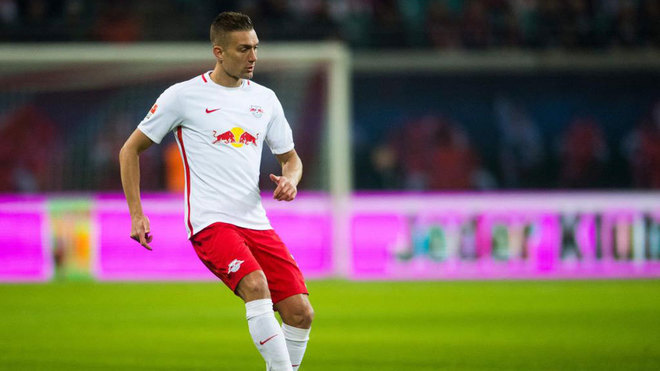 Ilsanker, con el RB Leipzig.