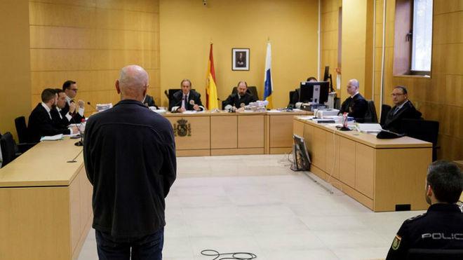 Miguel Ángel Millán, durante el juicio en la Audiencia Provincial de...