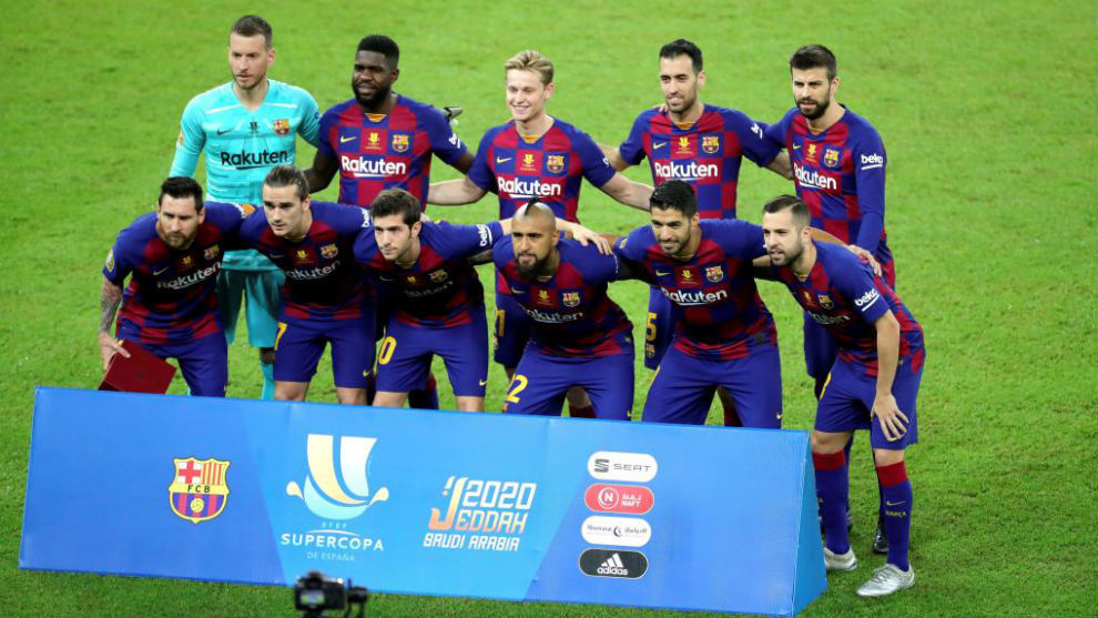 Supercopa De Espana Barcelona Player Ratings Vs Atletico Madrid A Night To Forget For Pique Marca In English