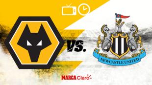 Wolves vs Newcastle: horario y dónde ver.
