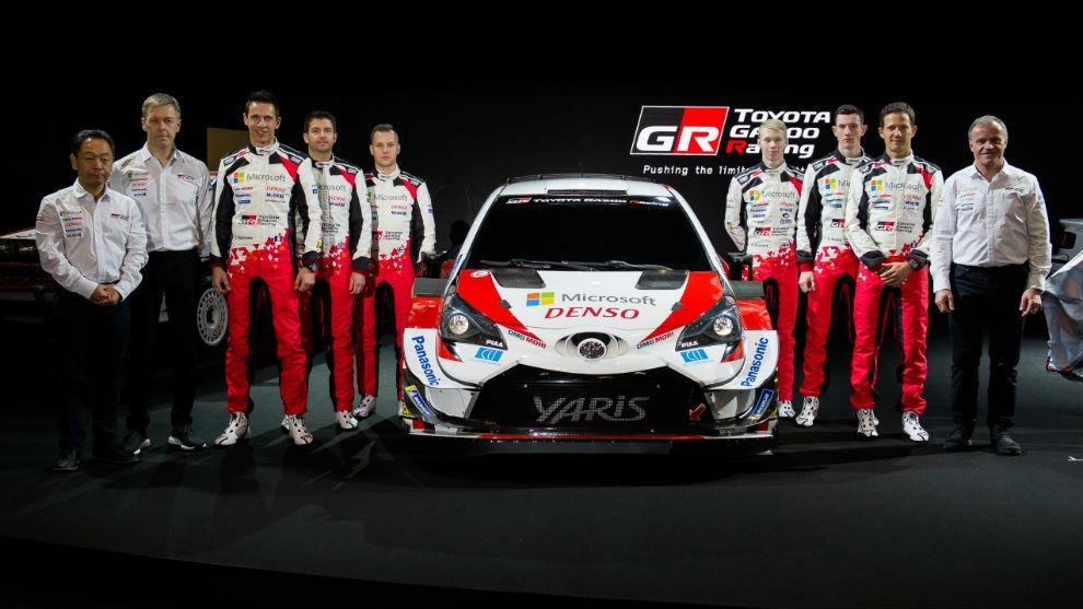 Alineación inédita para la tercera temporada del Yaris WRC.