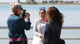 Marta García y M. Carmen Torres hacen una entrevista