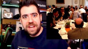 El youtuber AuronPlay explicó la historia de su encuentro con Albert...