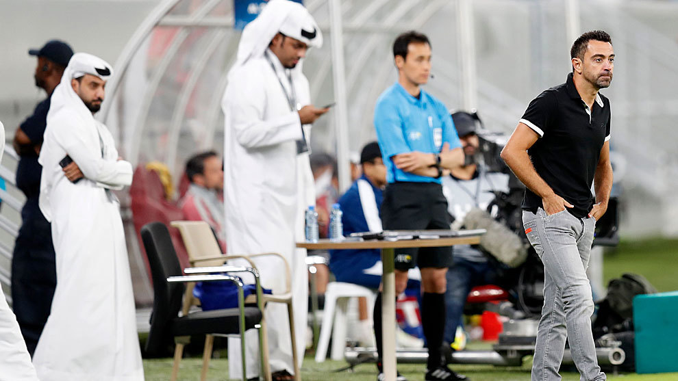 Al Sadd deny Xavi is on his way back to Barcelona