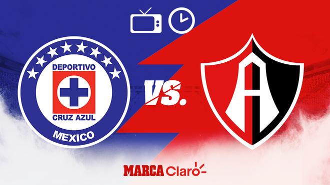 Cruz Azul vs Atlas: Horario y dónde ver.