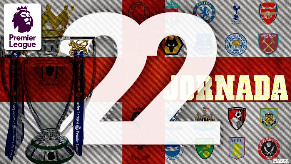 Partidos, horarios y dónde ver por television y online la jornada 22...
