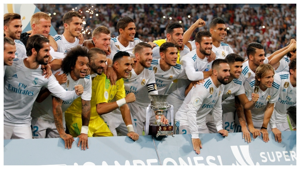 Supercopa de Espana: The Real Madrid squad have won 147 international trophies compared to 57 domestic honours | MARCA in English