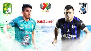Transmisión Liga MX: León vs Querétaro hoy en vivo y en directo.