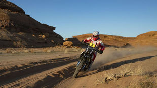 Paulo Goncalves during the 2020 Dakar Rally
