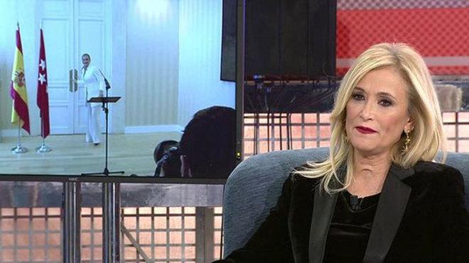 """Cristina Cifuentes: """"Vivo con lo justo, a ver si otros políticos..."""