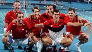 Serbia se llevó un título de la mano de Nole.