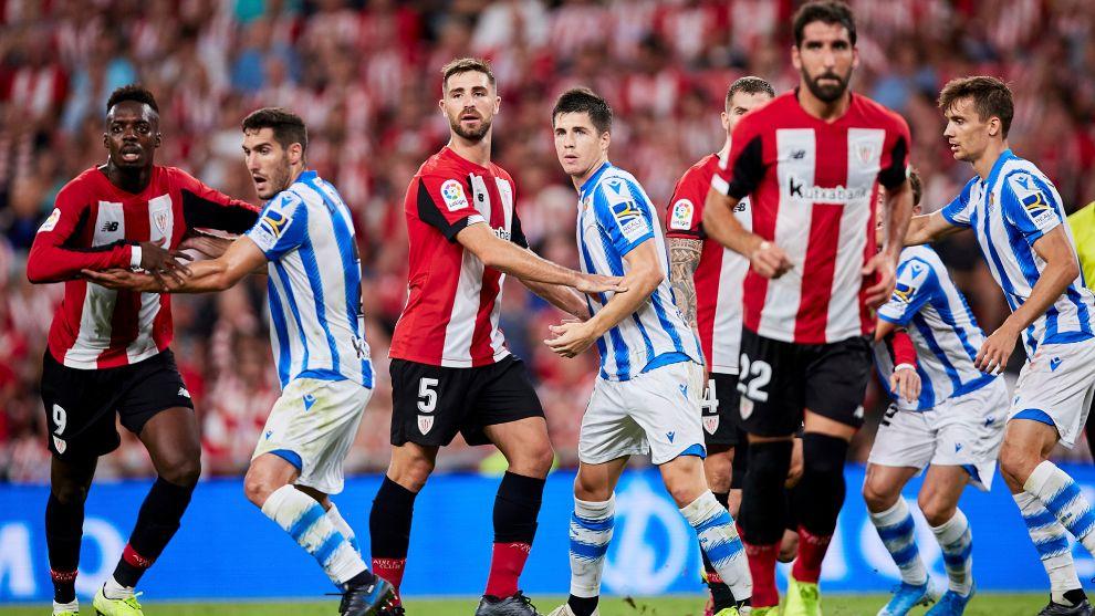 Athletic y Real ganaron sus respectivos partidos de Copa con...