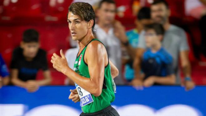 Sergio Jiménez se impuso en los 3.000 metros.