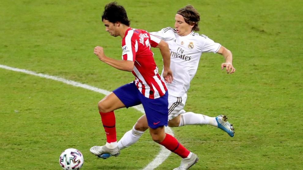 Joao Félix supera a Modric.