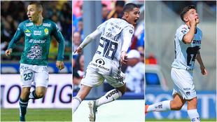 Zamora, Márquez y García tuvieron debuts destacados.