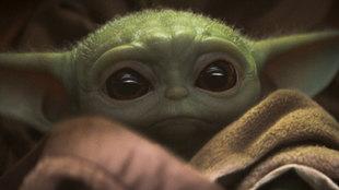 Baby Yoda, de la serie The Mandalorian
