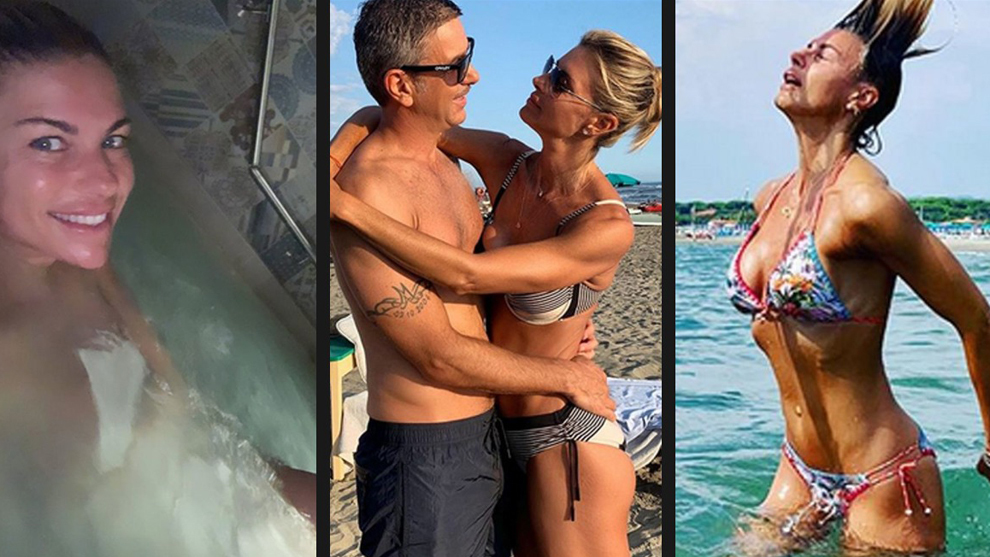 Martina Colombari: Costacurta's 44-year-old influencer wife