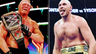 Brock Lesnar y Tyson Fury