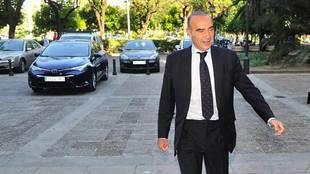Luis Oliver, en una imagen de hacer un par de años en Sevilla