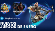 'Horizon Zero Dawn', 'Uncharted: El Legado Perdido' y 'Overcooked! 2',...