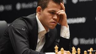 El noruego Magnus Carlsen.