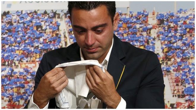 Xavi no llega al Barca.