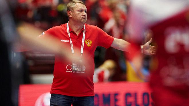 El seleccionador ruso, Eduard Korcharov /