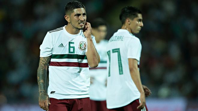 Víctor Guzmán se perdería el hexagonal con México.