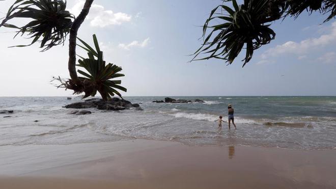 """Sri Lanka se pone """"de rebajas"""" para afrontar la caída del turismo."""