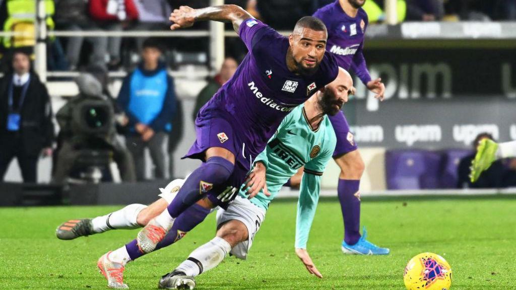 Boateng, en la Fiorentina.