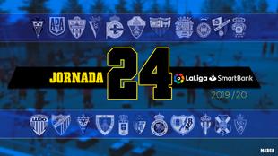 Jornada 24: Partidos, horarios y dónde ver en TV y online LaLiga...