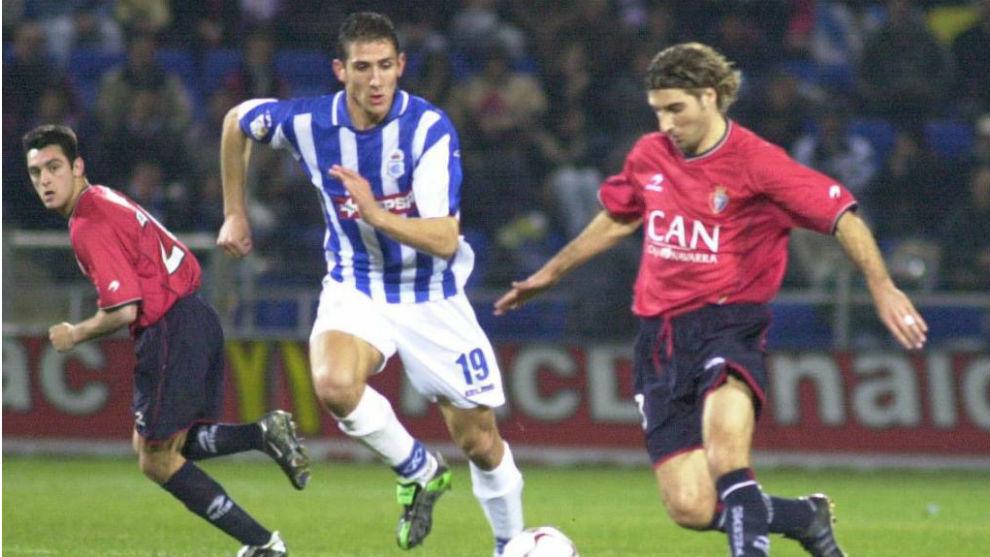 Semifinales de Copa de la 2002-03 entre Recreativo y Osasuna.